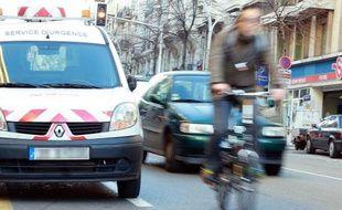 Les bandes cyclables du boulevard Garibaldi disparaîtront progressivement.