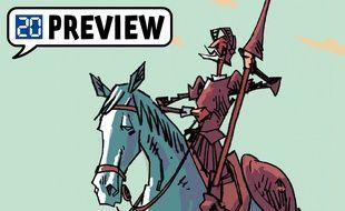 «Don Quichotte», la BD