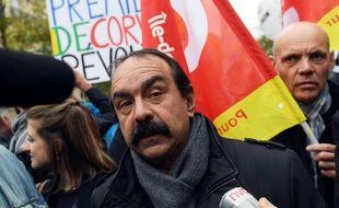 Le secrétaire général de la CGT Philippe Martinez