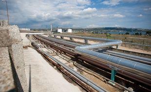 Une raffinerie autour de l'étang de Berre (photo d'illustration).