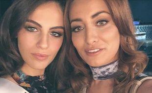 Le selfie réalisé par Miss Irak et Miss Israël.