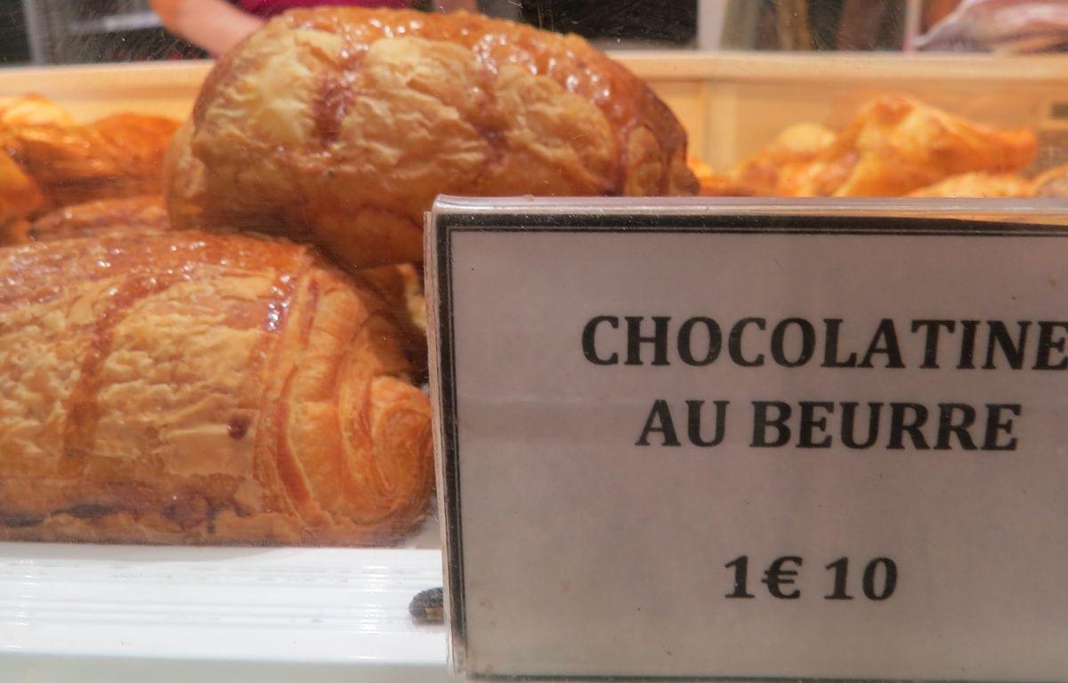 Les chocolatines de la boulangerie De Oliveira à Toulouse...qui vend très peu de pains au chocolat. – H. Menal - 20 Minutes