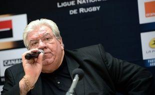 Paul Goze, le président de la Ligue nationale de rugby, le 16 novembre 2012.