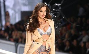 Irina Shayk, lors du défilé Victoria's Secret