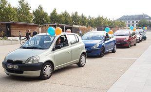 Les participants à l'opération vont remiser leur voiture dans un garage pour quelques semaines, voire définitivement.