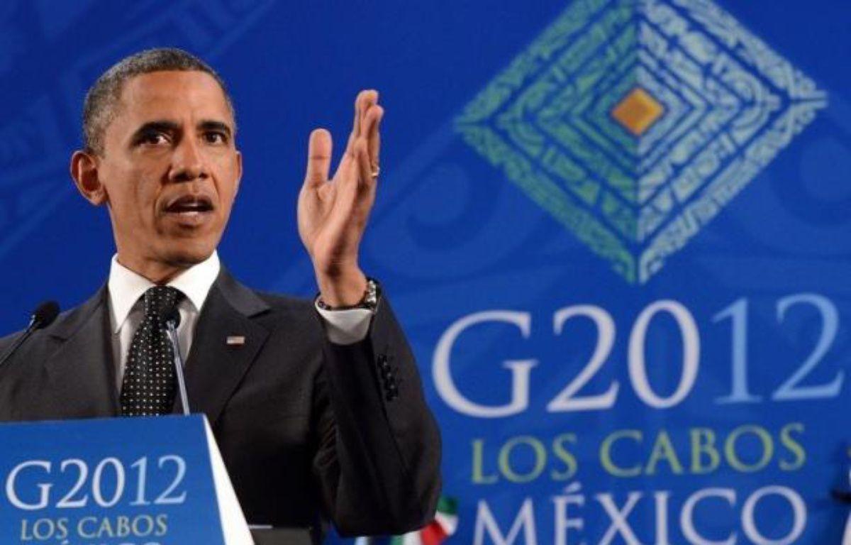 La croissance a été le maître-mot retenu par les chefs d'Etat et de gouvernement du G20 réunis à Los Cabos (Mexique), qui ont fait état de leur préoccupation pour l'économie européenne. – Jewel Samad afp.com