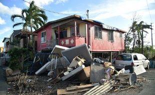 Le bilan de l'ouragan Maria a été largement révisé.