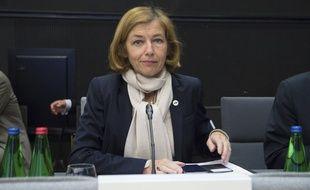 Florence Parly, ministre de la Défense française, en Estonie le 7 septembre 2017.
