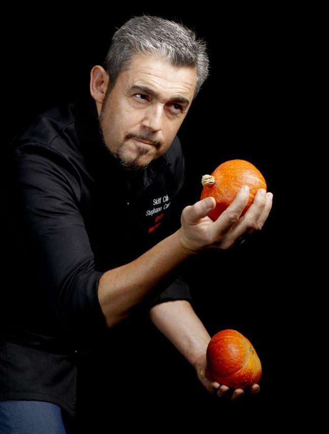 Stéphane Carrade, chef deux étoiles du restaurant Le Skiff Club