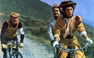 Bourvil (à gauche) dans le film «Les Cracks» d'Alex Joffé (1968).