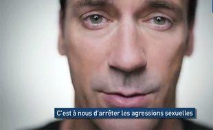 Capture d'écran de la vidéo de la campagne contre le viol «It's on us».