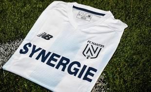 Le maillot porté par les joueurs du FCN dimanche.
