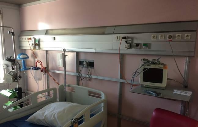 Actuellement, les chambres stériles font entre 8 et 9 m2.