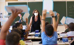 Dans une école à Nice (photo d'illustration).