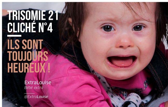 Une campagne cassons les clichés sur la trisomie 21 met en scène Louise, 21 mois, dont l'histoire a fait le tour du monde via facebook.