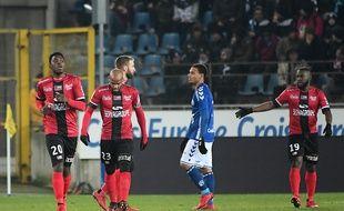 Les Guingampais ont marqué par deux fois sans encaisser un seul but au stade de la Meinau à Strasbourg ce vendredi (2-0).