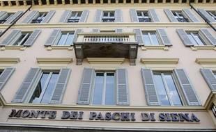 La banque italienne Banca Monte dei Paschi di Sienna