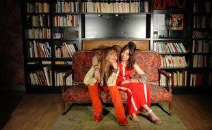 Marielle Sade et Romy Trajman sont mère et fille, à la vie comme à l'écran.