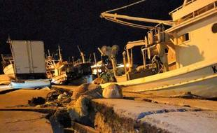 Les dégâts liés au tremblement de terre en Grèce (image d'illustration).