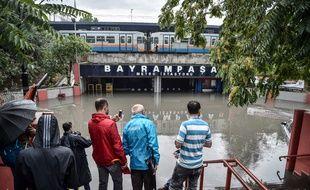 Des pluies diluviennes se sont abattues ce mardi sur Istanbul, capitale économique de la Turquie.