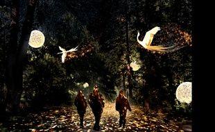 Le parc de la Tête d'Or à Lyon sera de nouveau investi par les artistes et le public lors de la Fête des lumières.