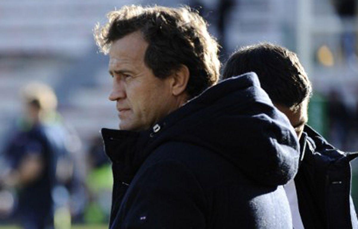 Fabien Galthié, consultant de France Télévisions sur les matchs du XV de France.  – Franck PENNANT / AFP
