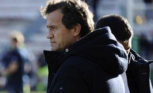 Fabien Galthié, consultant de France Télévisions sur les matchs du XV de France.