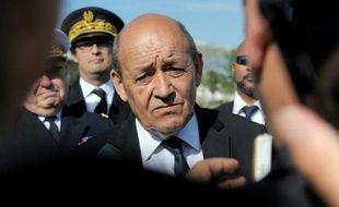 Le ministre français de la Défense Jean-Yves Le Drian, le 23 juin 2015 à Lorient en France