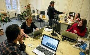 L'atelier des médias est l'un des sites de coworking de la région lyonnaise.