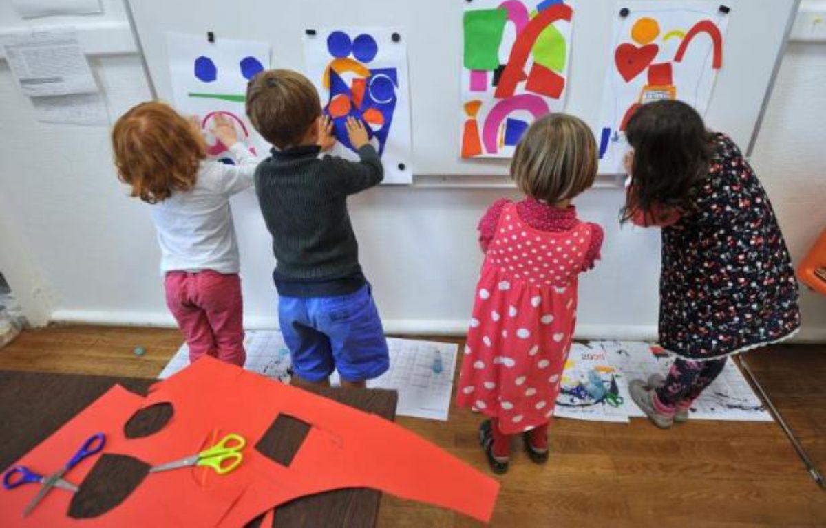 Des élèves participent à des activités périscolaires, dans le cadre de la réforme des rythmes scolaires, à Nantes – Frank Perry AFP