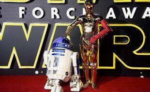 R2D2 et C3PO, héros de Star Wars