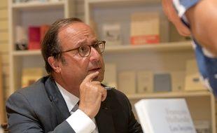 François Hollande au Creusot, le 5 septembre 2018.