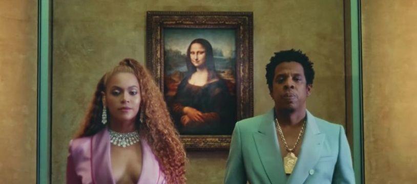 Beyoncé et Jay-Z devant «La Joconde» dans le clip de leur chanson «Apeshit».