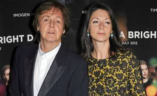 Le musicien Paul McCartney et sa fille, la photographe et documentariste Mary McCartney