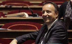 Jean-Pierre Bel, le président du groupe socialiste au Sénat, le 22 octobre 2010.