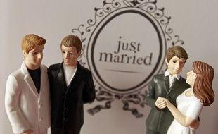 L'individu est suspecté d'avoir cambriolé une boutique de mariage (illustration).