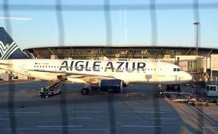 Un avion Aigle Azur (Illustration).