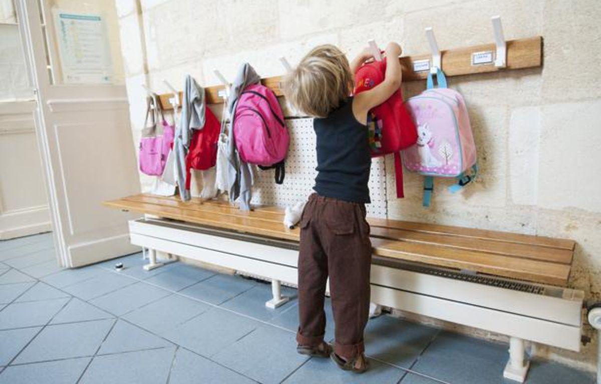 Un enfant dans une école maternelle à Bordeaux, en septembre 2013. – S. ORTOLA / 20 MINUTES