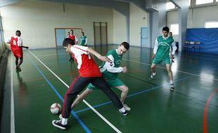 Match de futsal. (Illustration)