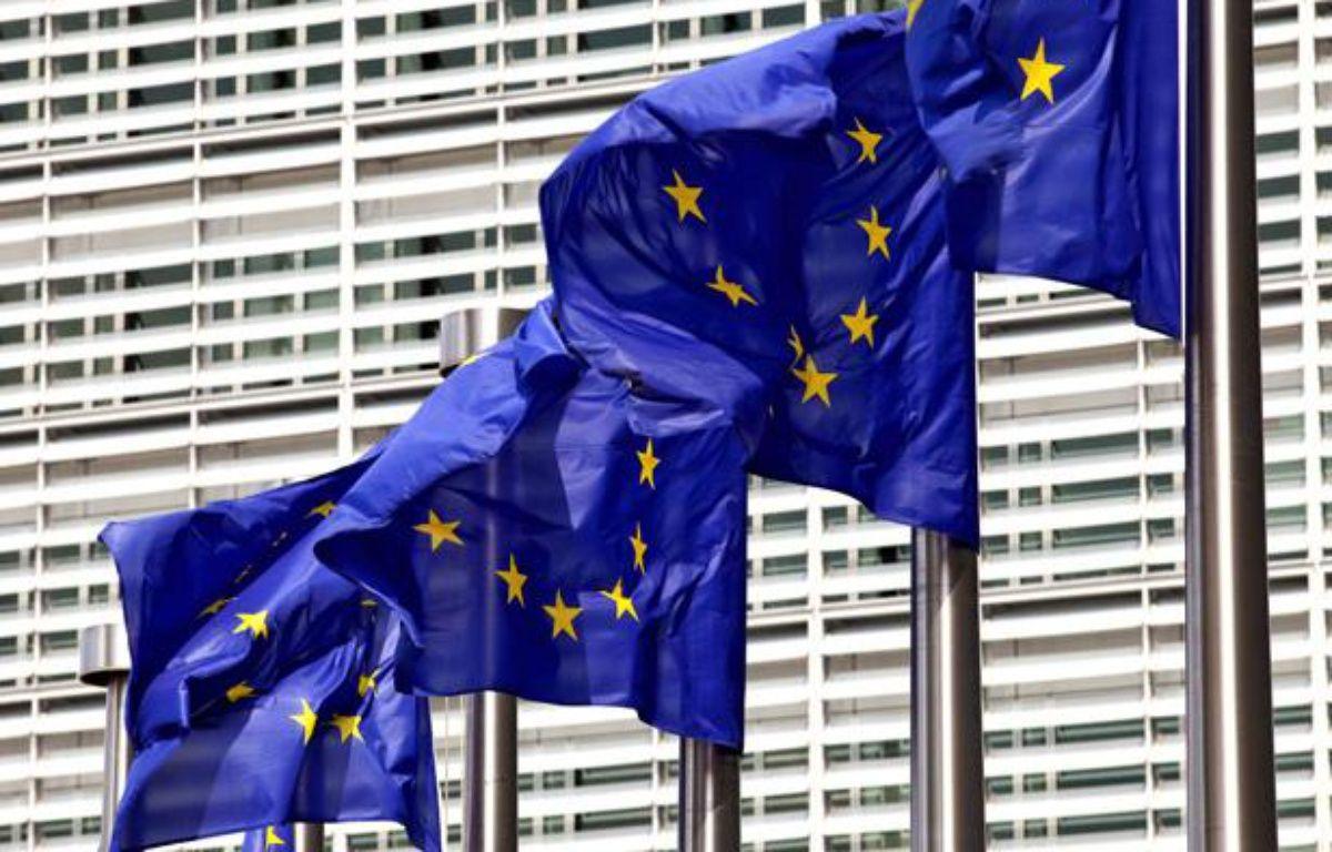 La Commission européenne a présenté son «paquet pour l'emploi» le 18 avril 2012 – REVERT BERNAL/ISOPIX/SIPA