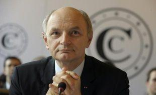 Didier Migaud le 11 février 2015 à la Cour des comptes à Paris