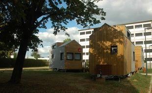 Les tiny houses envisagées sont sur le modèle de celles installées par le Crous à Pau.