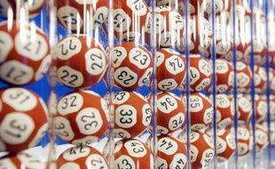 Les boules de loto utilisées pour le tirage de l'Euro Millions