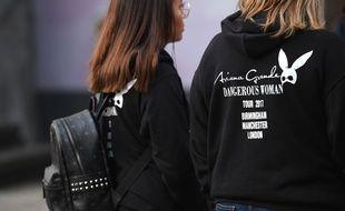 Des fans d'Ariana Grande à Manchester, le 23 mai 2017.