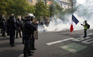 Le défilé du 1er Mai 2019 à Paris a été émaillé d'incidents.