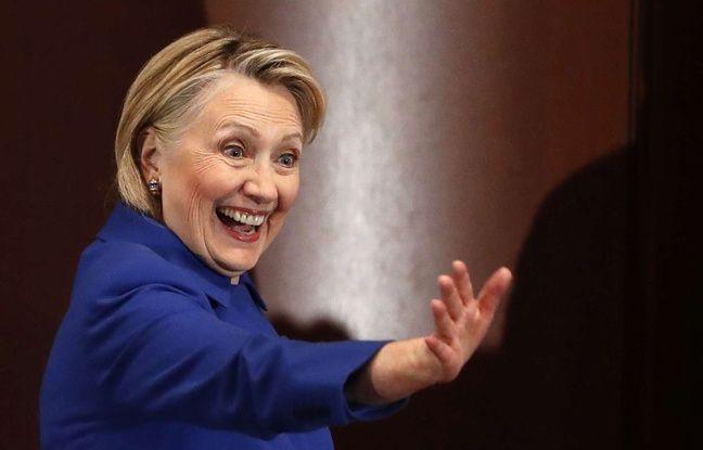 Etats-Unis: Hillary Clinton répond à l'appel visio de sa petite-fille en pleine conférence