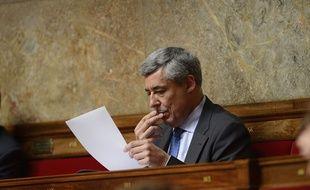 Le député UMP des Yvelines Henri Guaino, le 3 juin 2014 à l'Assemblée nationale.