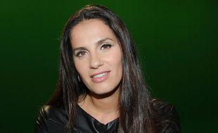La chanteuse Elisa Tovati, le 8 janvier 2014
