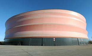 La surface orange du Zénith devrait être remplacée en 2018.