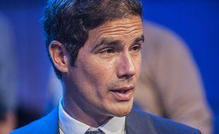 Mathieu Gallet, patron de Radio France, le 27 août 2014, à Paris.